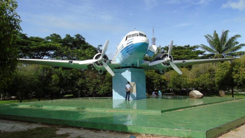 Pesawat Ri 001 Mulai Dipugar Monumen Kota Banda Aceh