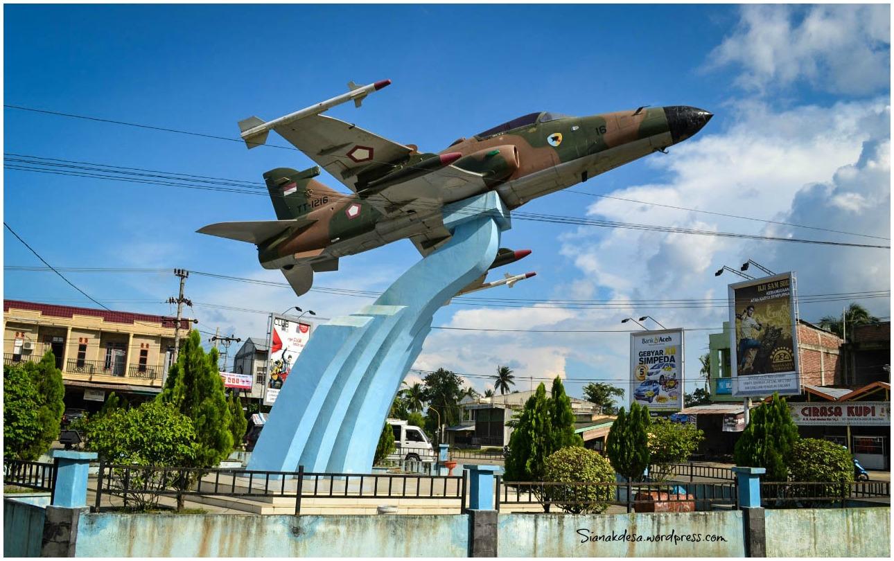 Sejarah Pesawat Tempur Simpang Aneuk Galong Aceh Besar Achie Bolang