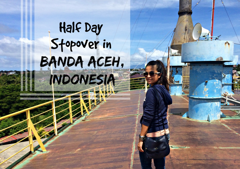 Day Stopover Banda Aceh Indonesia Walks World City Rebuilt Reconstructed