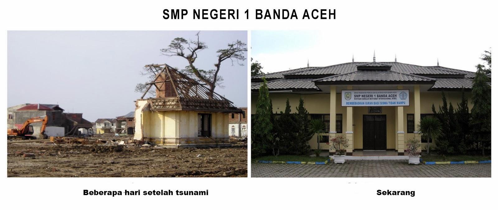 Foto Banda Aceh Setelah Tsunami 2004 Oleh Smp Negeri 1