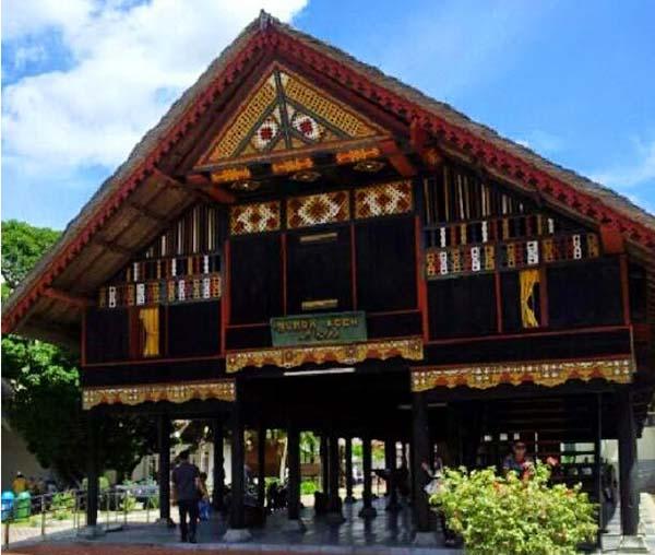 Historical Tourism Gunongan Province Banda Aceh Tourist Negeri Museum Traveled