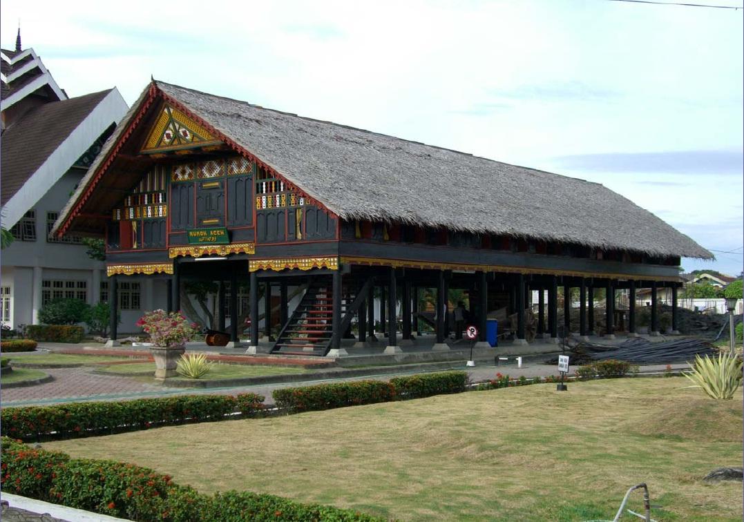 Museum Negeri Banda Aceh Indonesia Kota Rumah View
