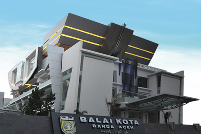 Pemko Banda Aceh Bangun Ikon Pikiran Merdeka Balai Kota Museum