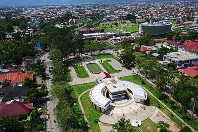 Taman Sari Banda Aceh Model Kota Madani Museum Negeri