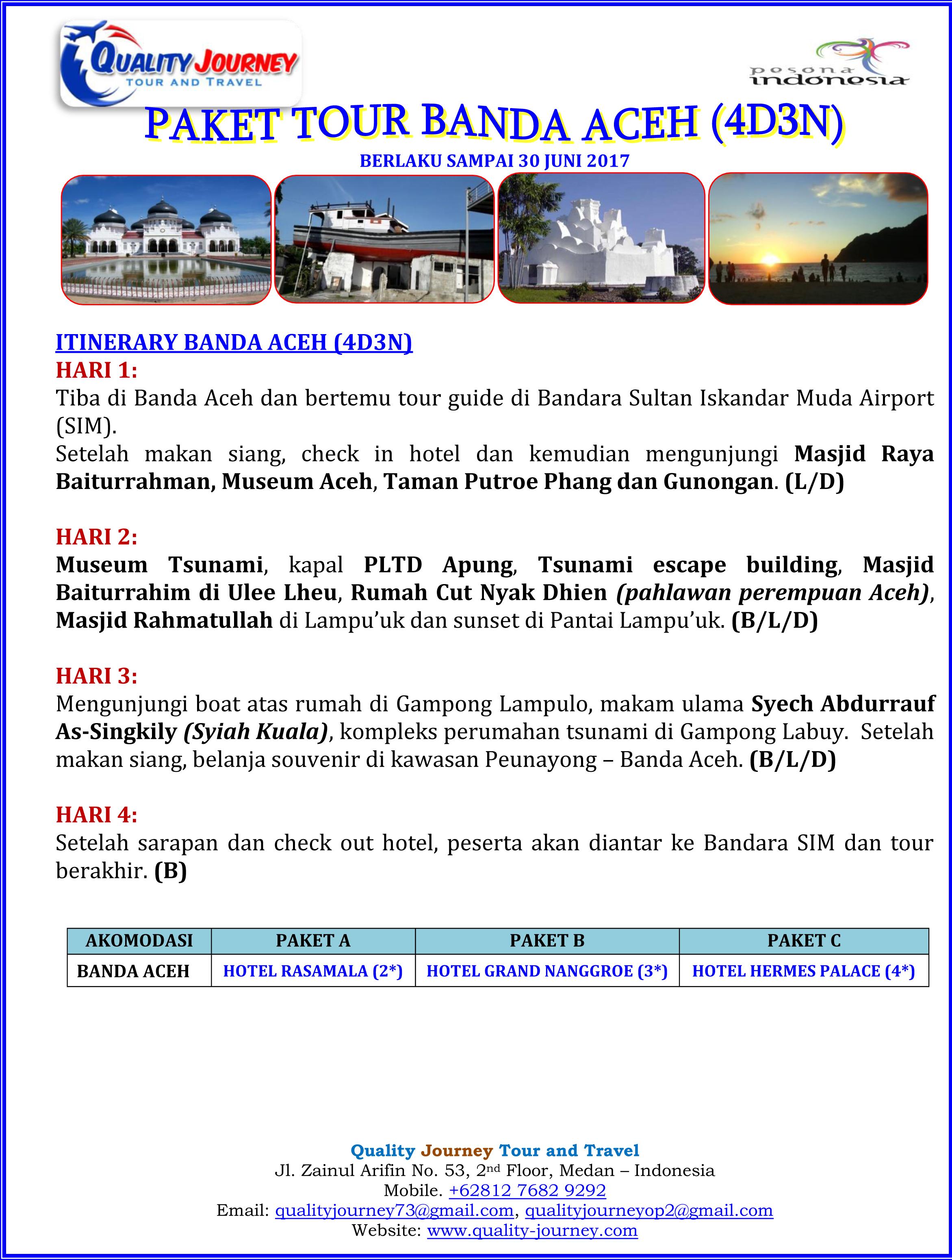 4d3n Tour Banda Aceh Quality Journey Paket 2017 1 Museum