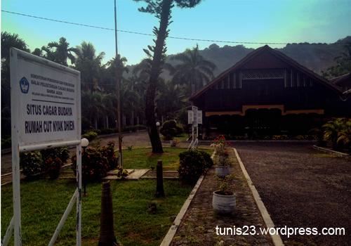Aceh Wisata Sejarah Rumah Cut Nyak Dhien Desa Kota Banda