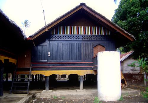 Aceh Wisata Sejarah Rumah Cut Nyak Dhien Desa Museum Kota