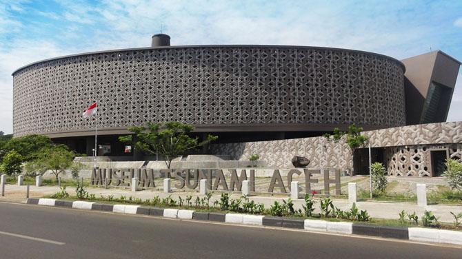 Museum Tsunami Aceh Indonesian Landmarks Tjut Nyak Dhien House Rumah