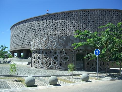 Museum Tsunami Greatest Building Banda Aceh Rumah Cut Nyak Dhien