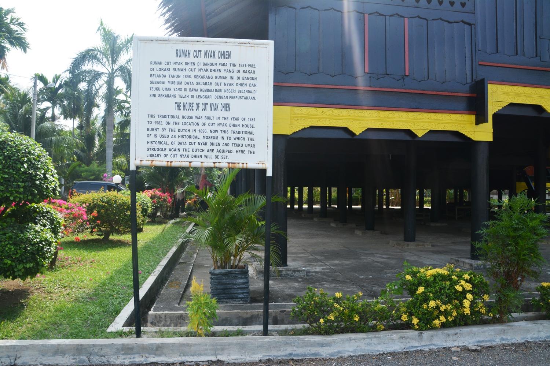 Portal Wisata Indonesia Museum Rumah Tjut Nyak Dien Senin 11