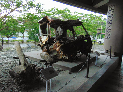 Berkunjung Museum Tsunami Aceh Musium Kota Banda