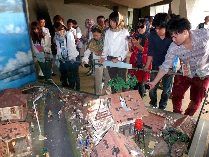 Museum Tsunami Japan Student Seputar Aceh Musium Kota Banda