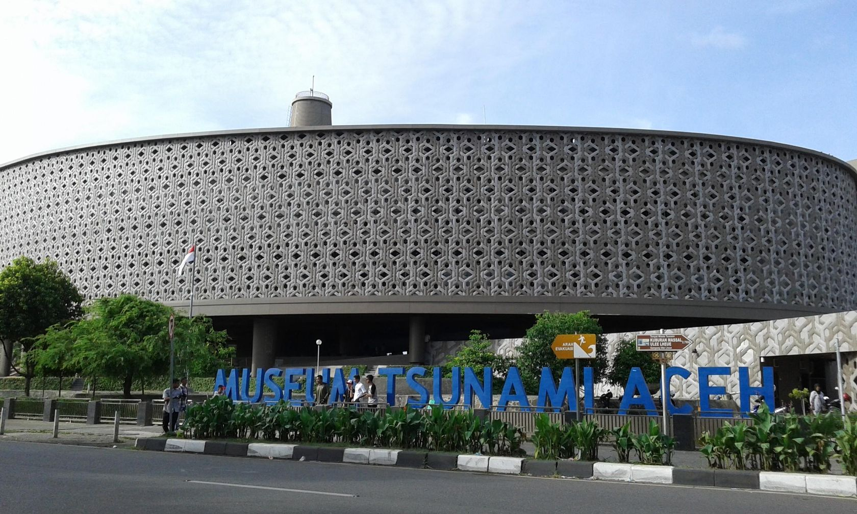 Steemit Tarjulfuzary Museum Tsunami Aceh Indonesia Tourist Attraction Place Commemorate