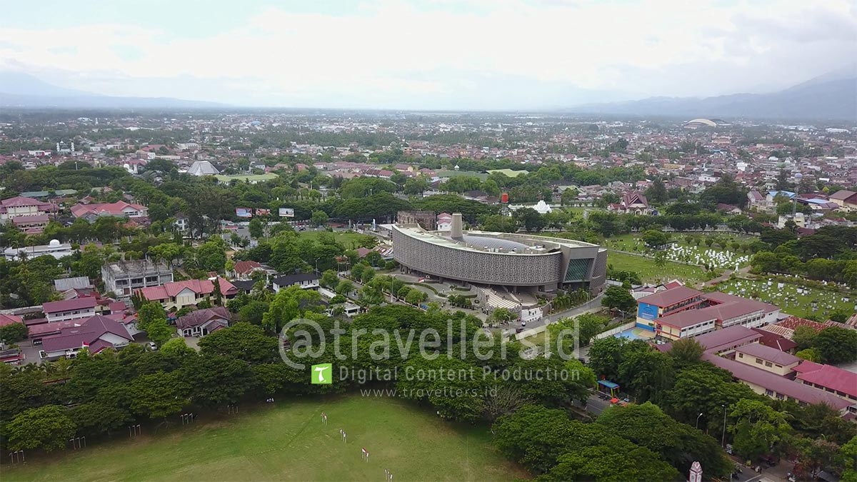 Stock Photo Video Museum Tsunami Aceh Exit Angle Travellersid Musium