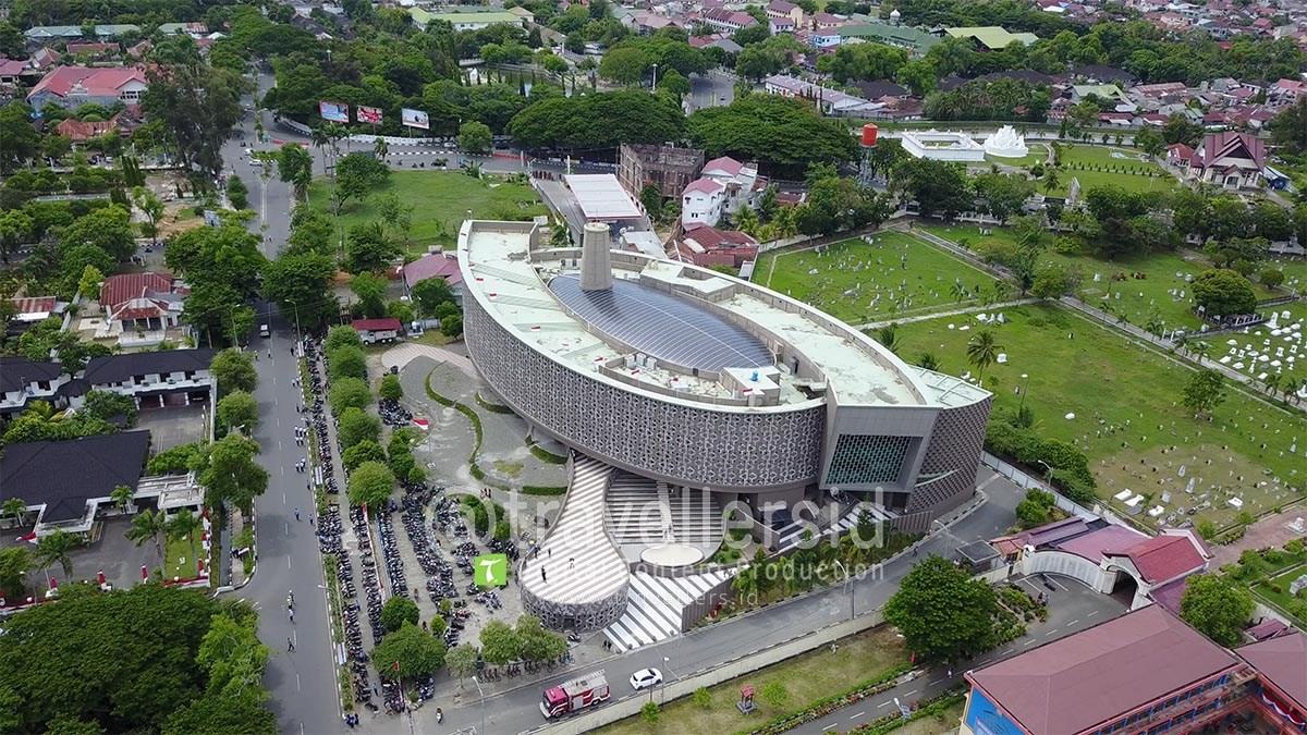 Stock Photo Video Museum Tsunami Aceh Poi Angle Travellersid Musium