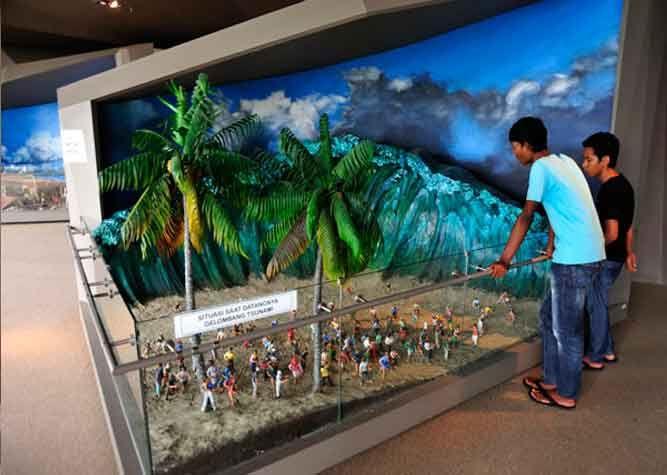 Tempat Wisata Aceh Museum Tsunami 2 Sumatra Pinterest Museums Musium