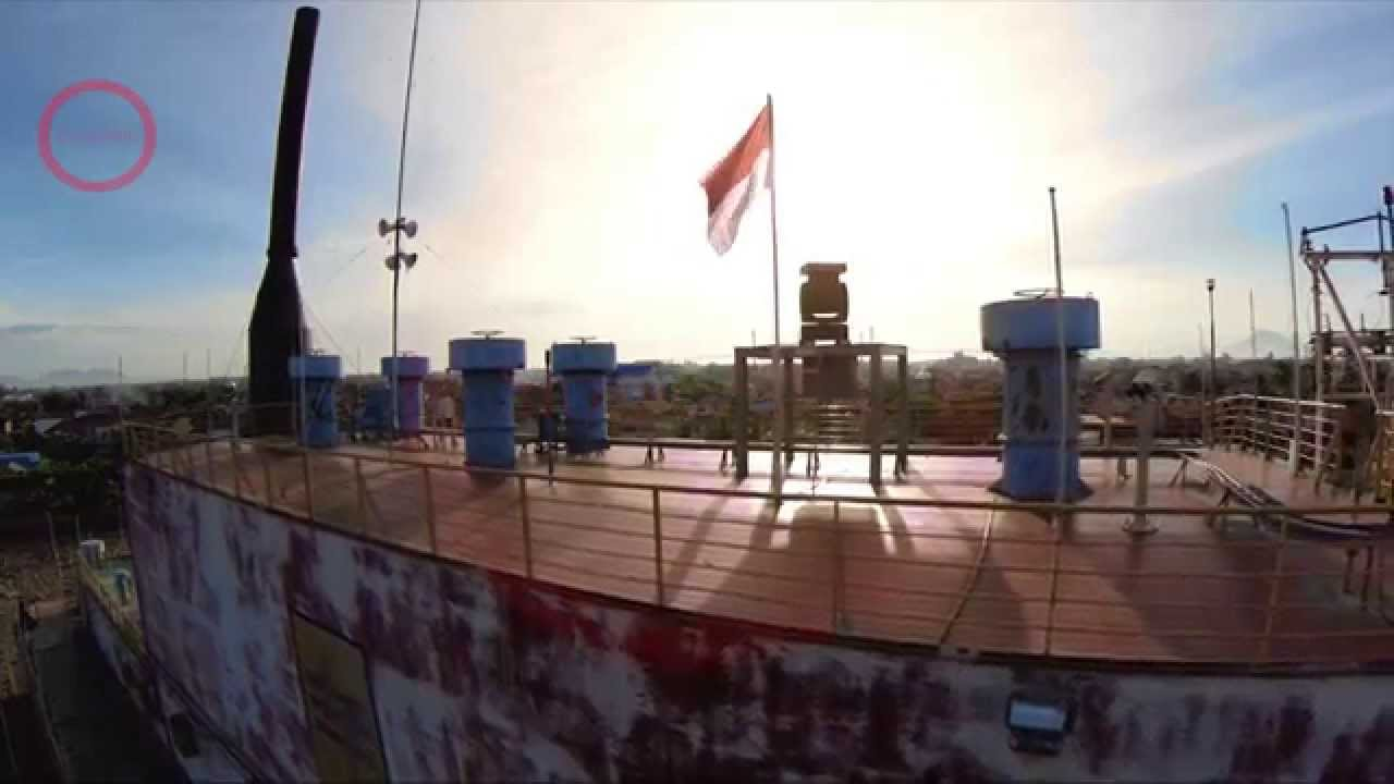 Aerial Shot Video Pltd Apung Ship Aceh Hd 1080 Youtube