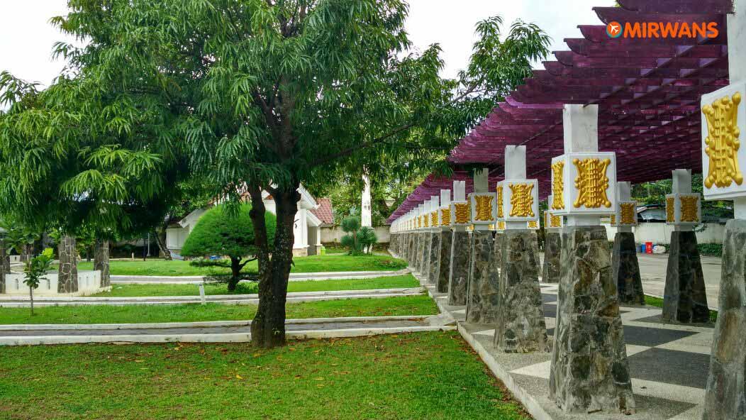 Bawa Pacar Taman Putroe Phang Inilah Terjadi Mirwan Sari Banda