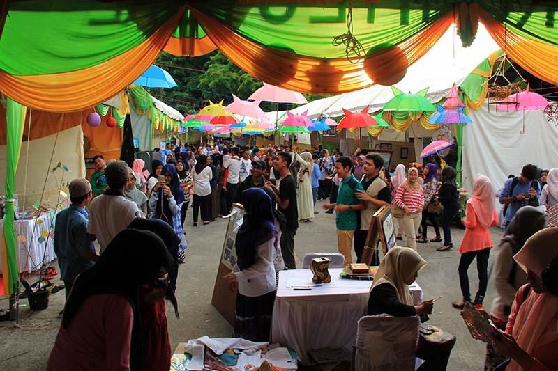 Foto Pekan Kreatif Banda Aceh 2015 Suasana Acara Taman Putroe