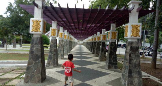 Hati Tertawan Taman Putroe Phang Kesbangpol Kota Banda Aceh