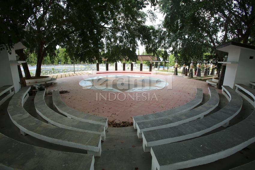 Menatapaceh Wajah Taman Putroe Phang Banda Aceh Usai Direnovasi Rabu