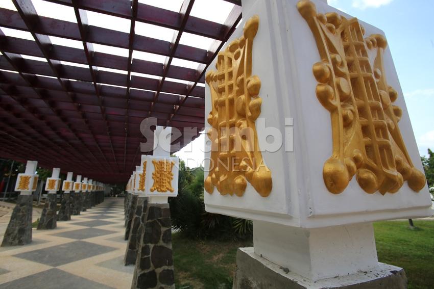 Menatapaceh Wajah Taman Putroe Phang Kota Banda Aceh