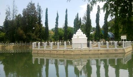 Sejarah Bangunan Gunongan Aceh Taman Putroe Phang Kota Banda