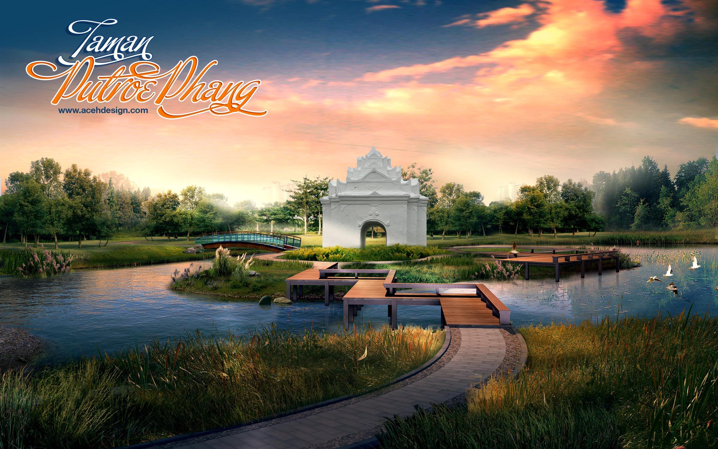 Sejarah Makna Taman Putroe Phang Aceh Net Kota Banda