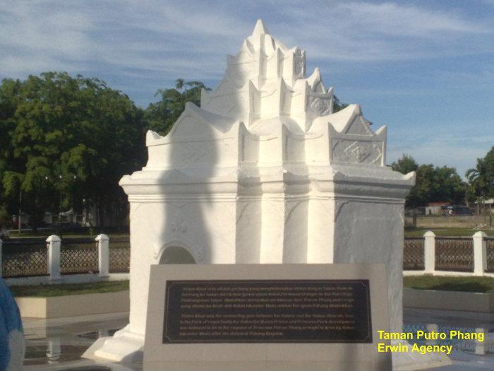 Taman Putroe Phang Banda Aceh Kota