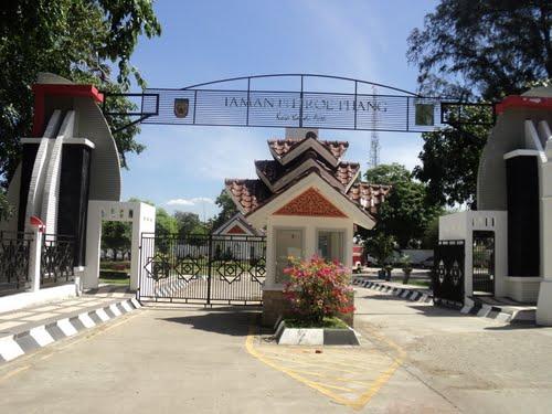 Taman Putroe Phang Banda Aceh Model Kota Madani Pemerintah