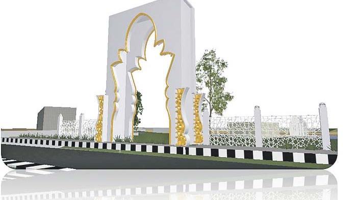 Taman Putroe Phang Ditata Kembali Serambi Indonesia Banda Aceh Kota