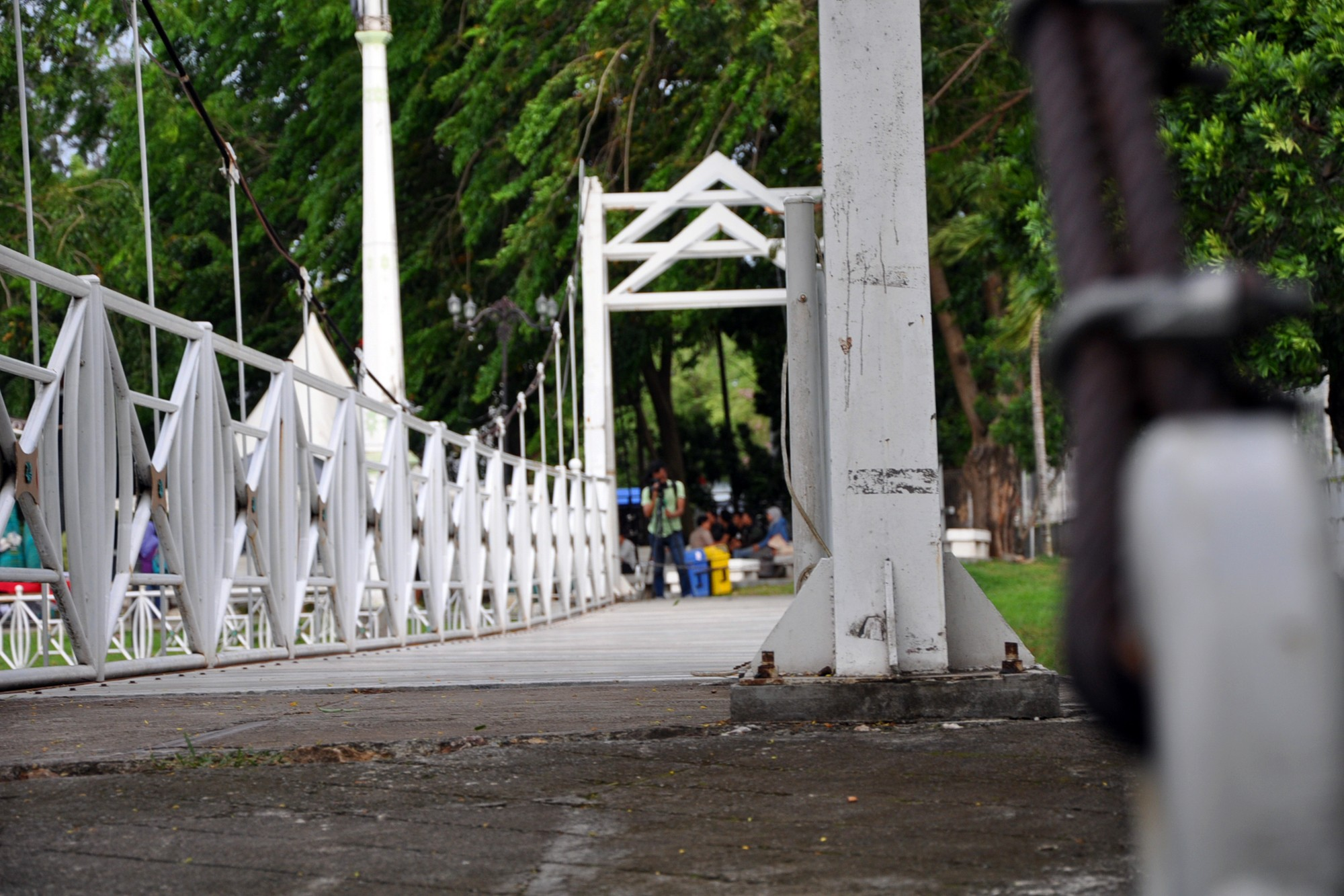 Taman Putroe Phang Sisa Kejayaan Wahana Kreatifitas Sebuah Jembatan Gantung