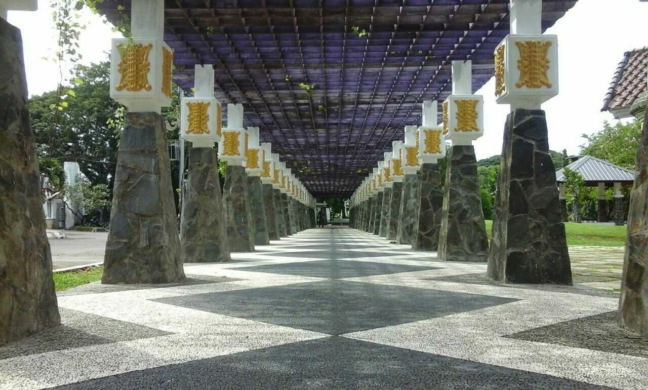 Tampilan Taman Putroe Phang Steemit Sentuhan Modern Corak Warna Warni