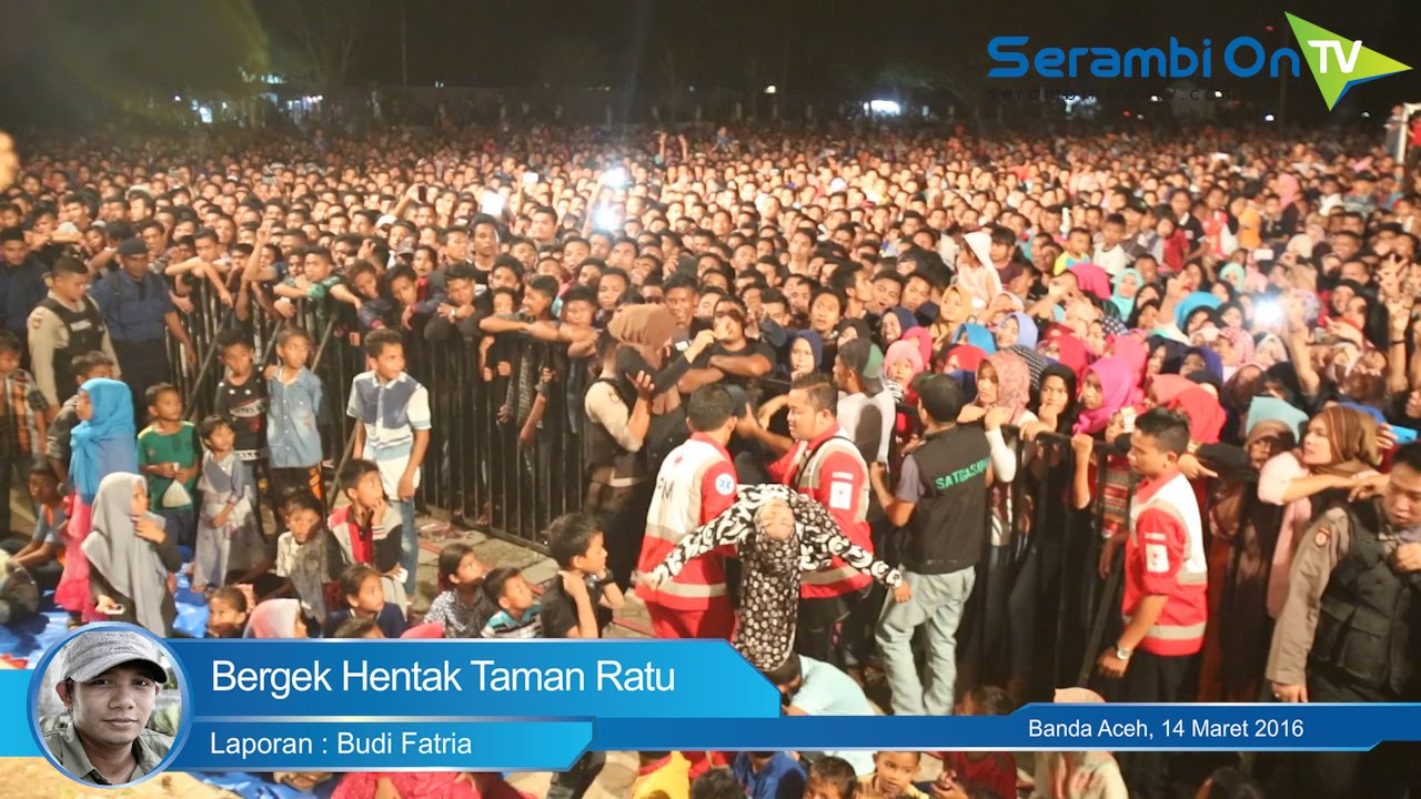 Bergek Hentak Taman Ratu Safiatuddin Youtube Kota Banda Aceh