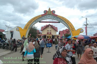 Bismillah Agustus 2009 Foto 1 Pintu Masuk Taman Sulthanah Safiatuddin