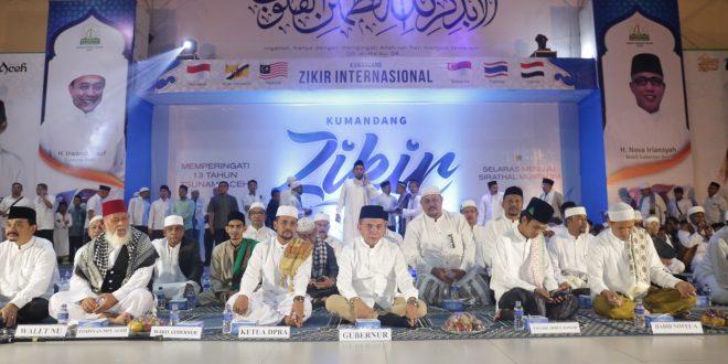 Irwandi Tsunami Ujian Pembelajaran Generasi Mendatang Gubernur Aceh Yusuf Menghadiri