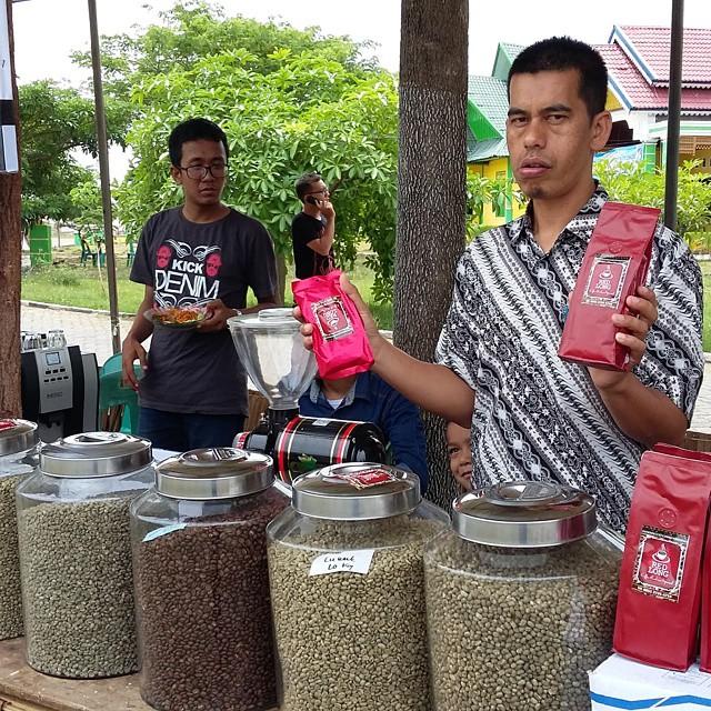 Kopi Gayo Bener Meriah Aceh Culinary Fest 2015 Taman Ratu