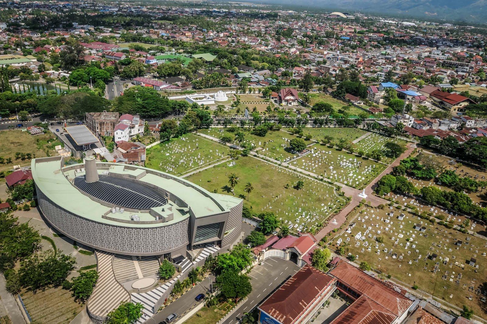 Kota Banda Aceh Udara Steemit Taman Ratu Safiatuddin Meuseum Tsunami