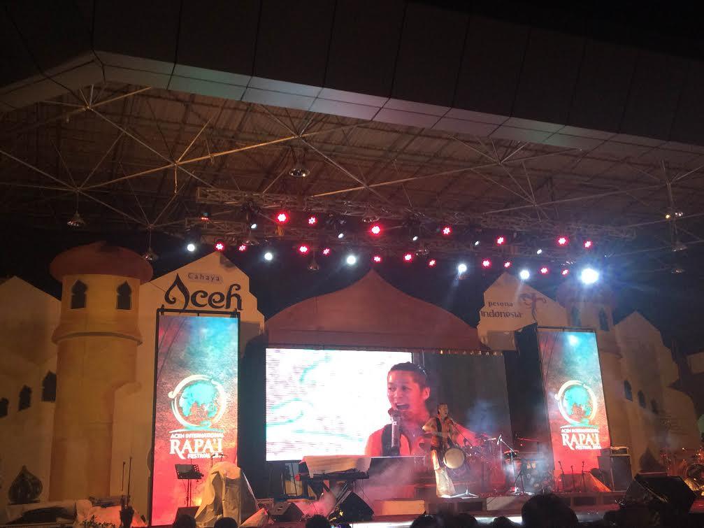 Ogawa Daisuke Multitalenta Asal Jepang Hentakkan Taman Ratu Banda Aceh