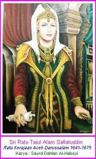 Safiatuddin Ratu Kerajaan Aceh Memperjuangkan Hak Wanita Rumah Adat Berbagai