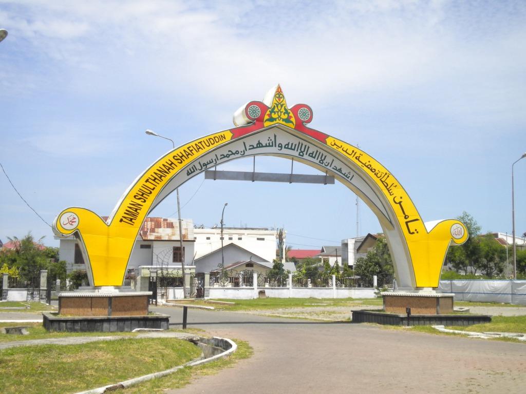 Taman Mini Ala Aceh Djangki Pintu Ratu Safiatuddin Kota Banda