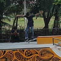 Taman Ratu Safiatuddin Parc Banda Aceh Photo Prise Au Par