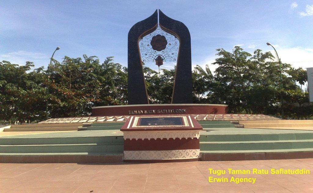 Tugu Taman Ratu Safiatuddin Mapio Net Indonesia Aceh Banda Kota