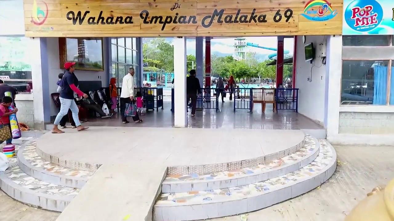 Waterboom Terbesar Aceh Wahana Impian Malaka 69 Youtube Kota Banda
