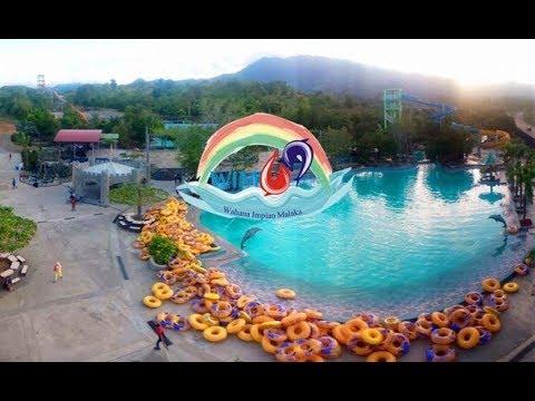 Waterboom Wahana Impian Malaka Wim 69 Aceh Besar Youtube Kota