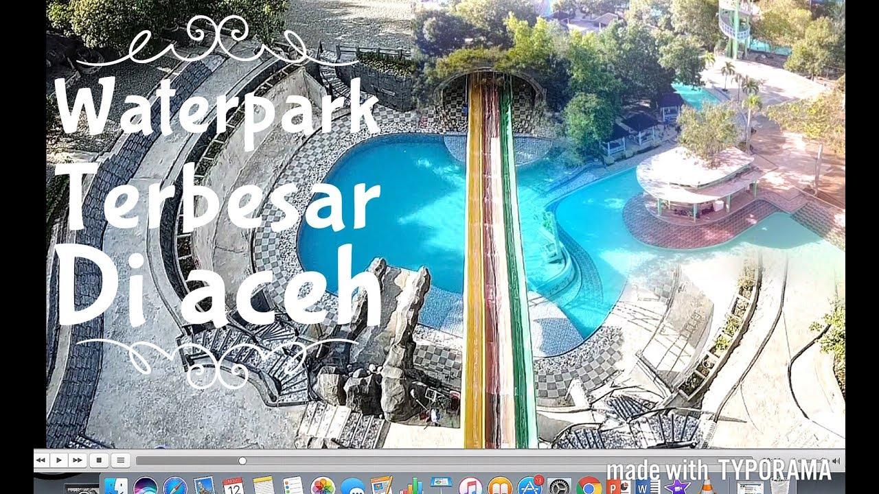 Wisata Waterpark Waterboom Terbesar Aceh Wahana Impian Malaka Kota Banda