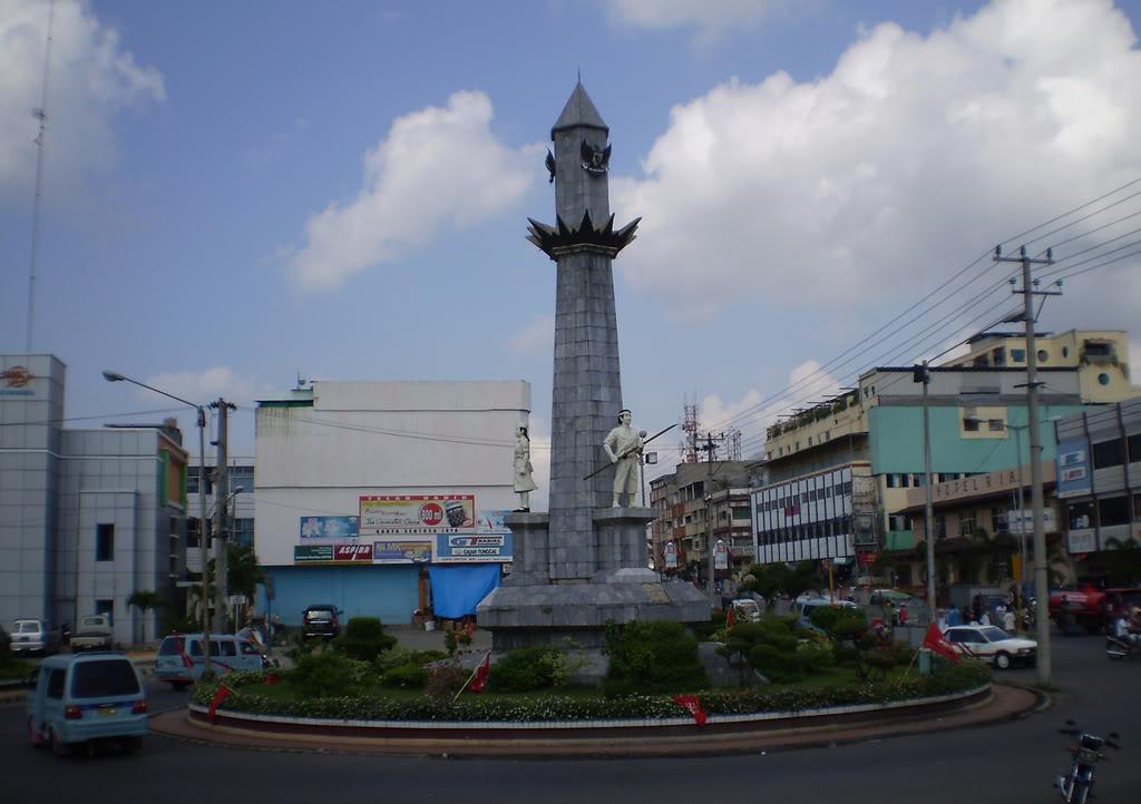 Bandar Lampung Liyanaacitra Tugu Juang Tanjung Karang Kota Lungsir Taman