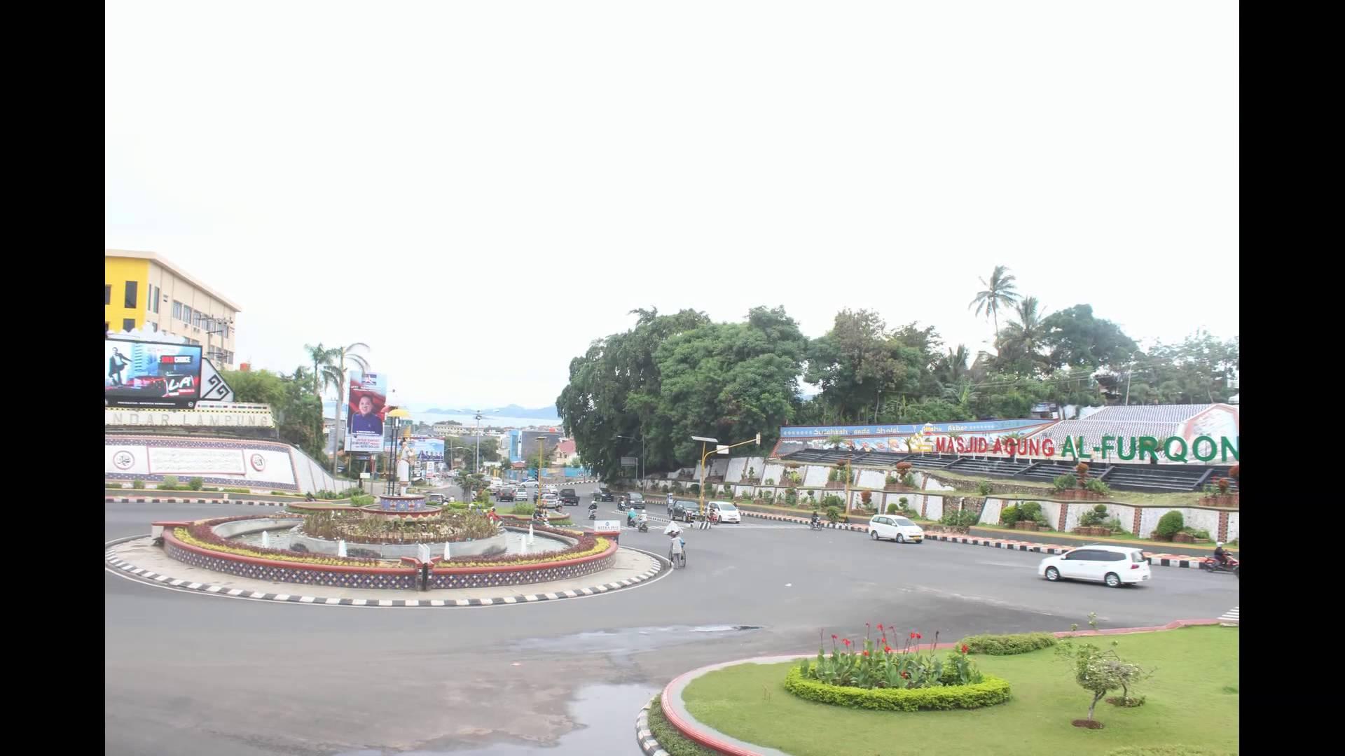 Bandar Lampung Timelapse Lungsir Youtube Taman Kota