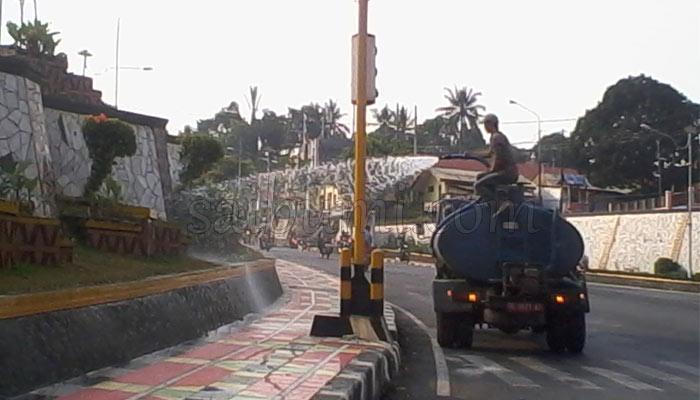 Keindahan Taman Kota Jaga Lungsir Bandar Lampung