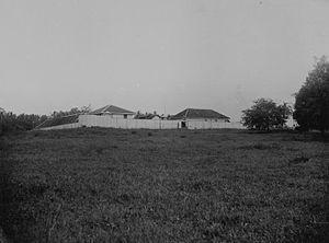 Kota Bandar Lampung Pusat Ensiklopedi Dunia Benteng Teluk Betung 1894